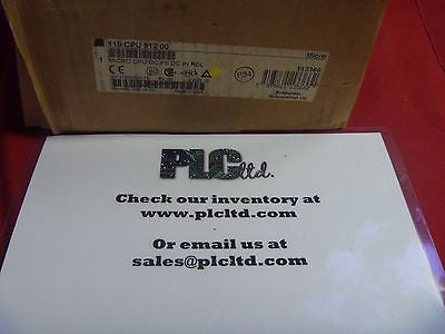 110CPU51200 NEW Modicon Micro Controller 110-CPU-512-00