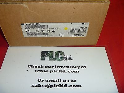 110CPU61203 BRAND NEW! Modicon Micro 110-CPU-612-03
