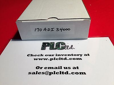 170ADI34000 Modicon DC Discreet I/O Base 170-ADI-340-00