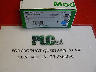 BMXDDI1602 New Schneider Electric Modicon BMX-DDI-1602 M340
