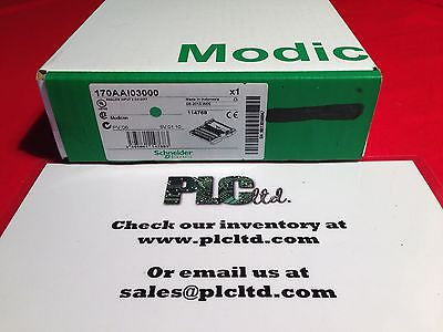 170AAI03000 NEW SEALED FACTORY FRESH Modicon Momentum Analog Base 170-AAI-030-00