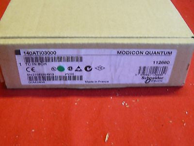 140ATI03000 NEW SEALED Modicon IN 8CH 140-ATI-030-00