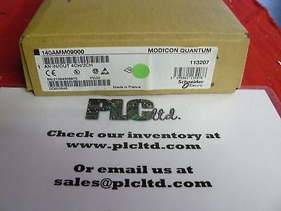 140AMM09000 NEW FACTORY SEALED Modicon Analog In/Out 140-AMM-090-00