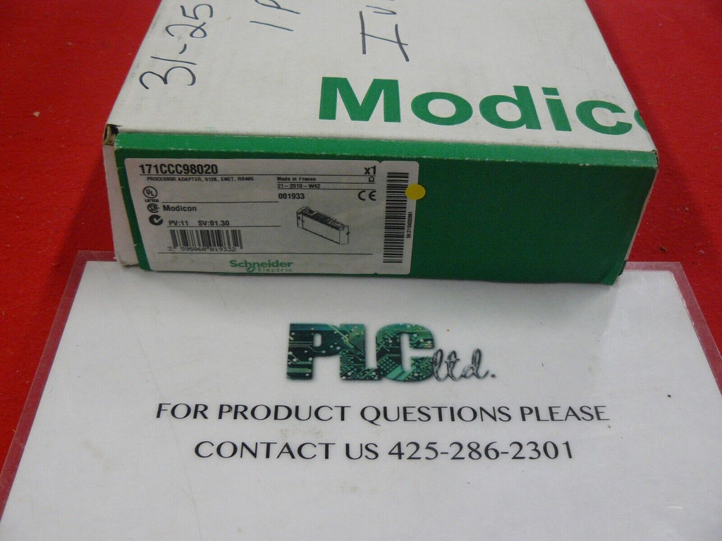 171CCC98020 Brand New Modicon Ethernet CPU 171-CCC-980-20