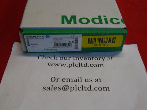 140CPS11420 NEW! Modicon AC Power Sply 140-CPS-114-20