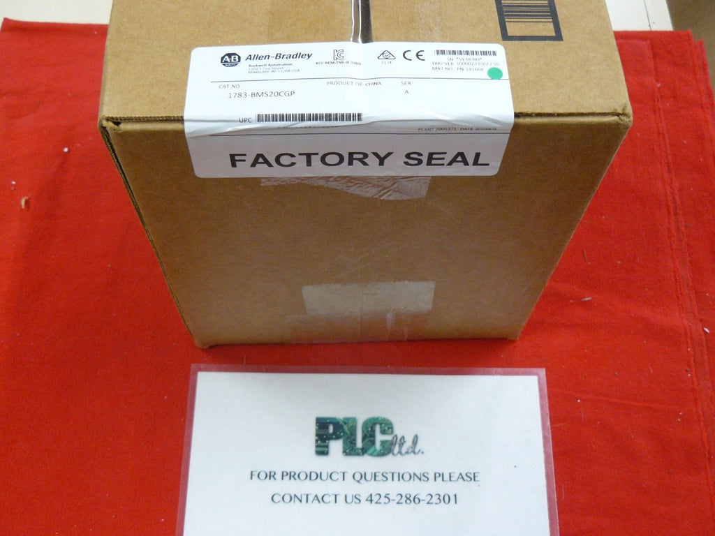 1783BMS20CG New Factory Sealed Allen Bradley 1783-BMS20CGP Ser A