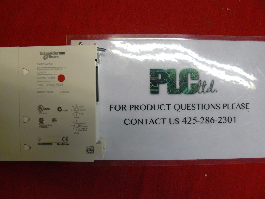 BMXPRA0100 Excellent Schneider Electric Modicon BMX-PRA-0100 M340