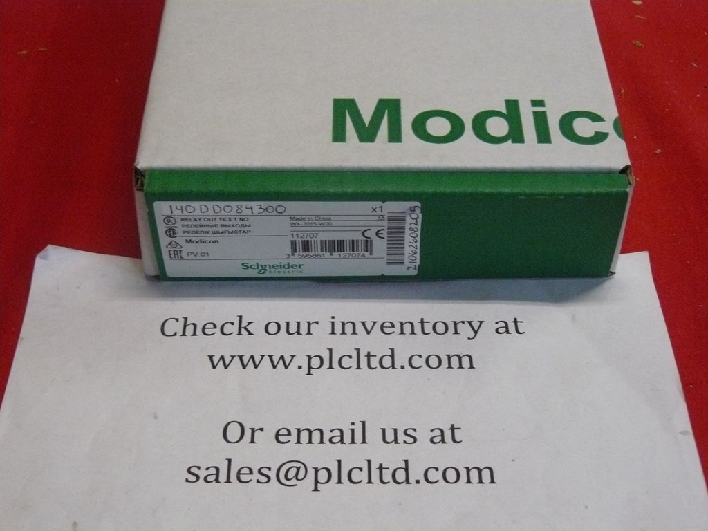 140DDO84300 NEW! Modicon Schneider DC Output 140-DDO-843-00