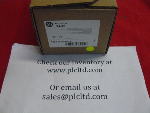 1492-IFM40D24 BRAND NEW! Allen Bradley Series A Interface Terminal Block