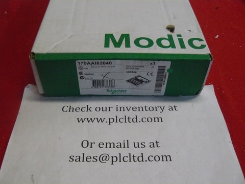 170AAI52040 NEW FACTORY SEALED! Modicon Momentum Analog Base 170-AAI-520-40