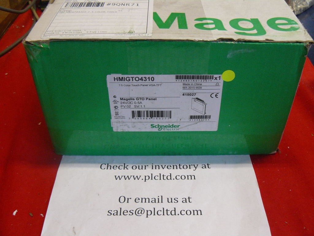 HMIGTO4310 BRAND NEW! Modicon Magelis HMI Touch Panel HMI-GTO-4310