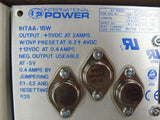 INTERNATIONAL POWER IHTAA-16W TRIPLE DC POWER SUPPLY