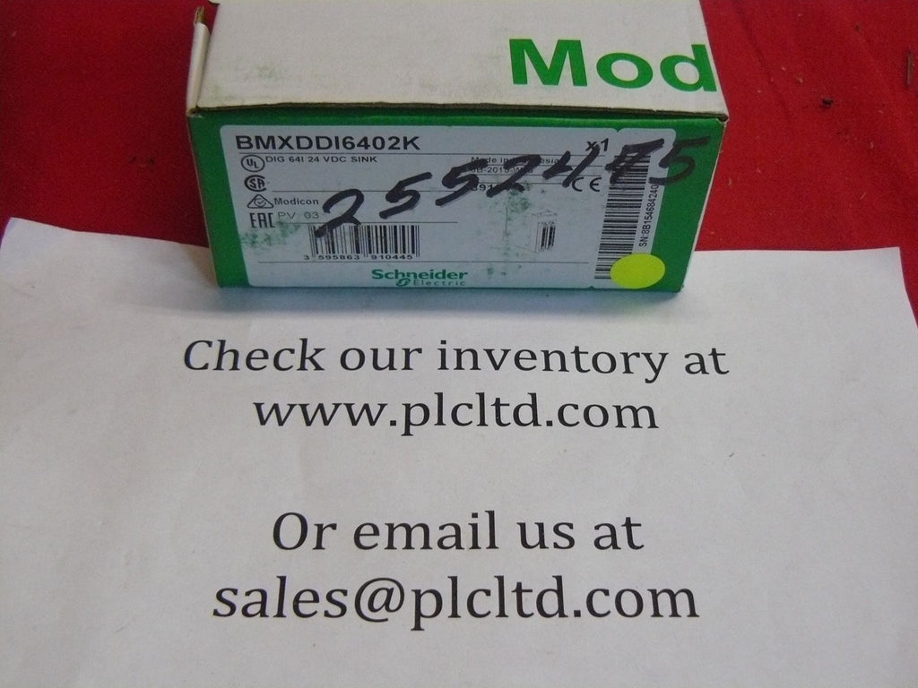 BMXDDI6402K BRAND NEW Schneider Electric Modicon BMX-DDI-6402K