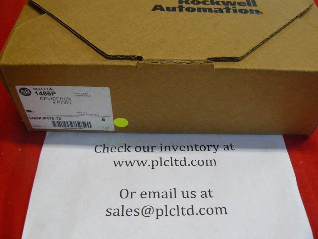 1485P-P4T5-T5 BRAND NEW! Allen Bradley Series B 4 Port Device Box