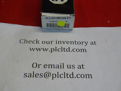 1746C7 BRAND NEW! Allen Bradley SLC 500 Chassis Interconnect Cable1746-C7