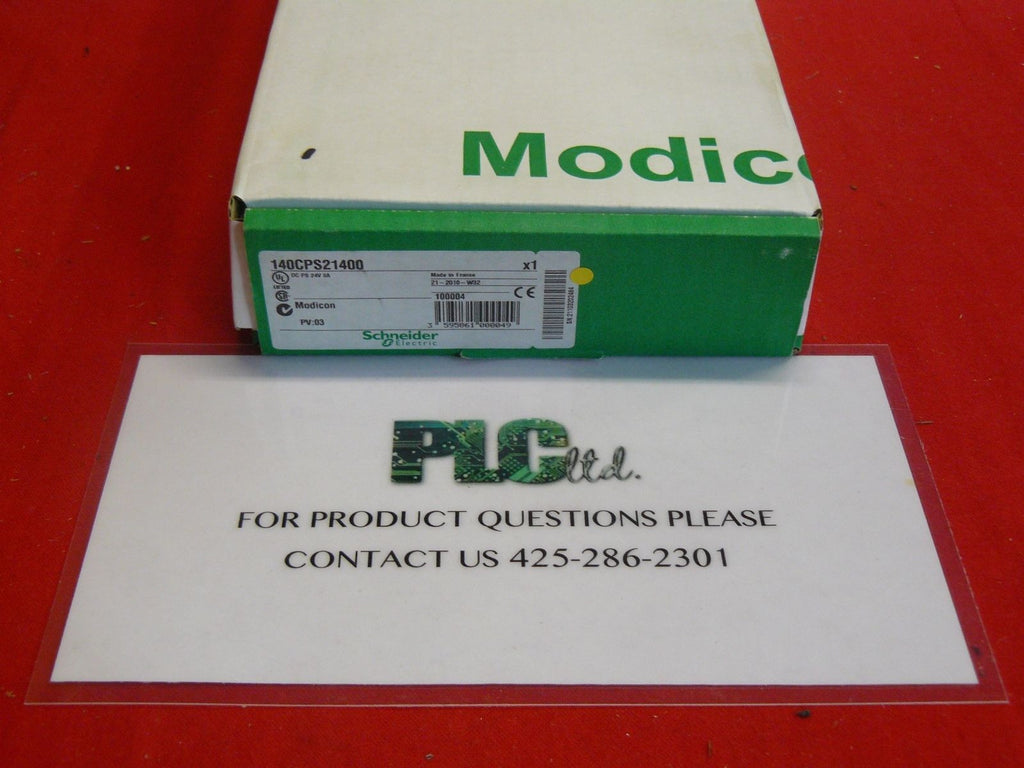 140CPS21400 BRAND NEW! Modicon Pwr Sply 140-CPS-214-00