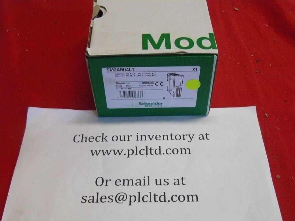 TM2AMI4LT NEW! Input Module Schneider Electric Modicon Twido