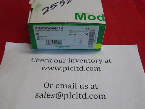 BMXDDO6402K BRAND NEW Schneider Electric Modicon BMX-DDO-6402K