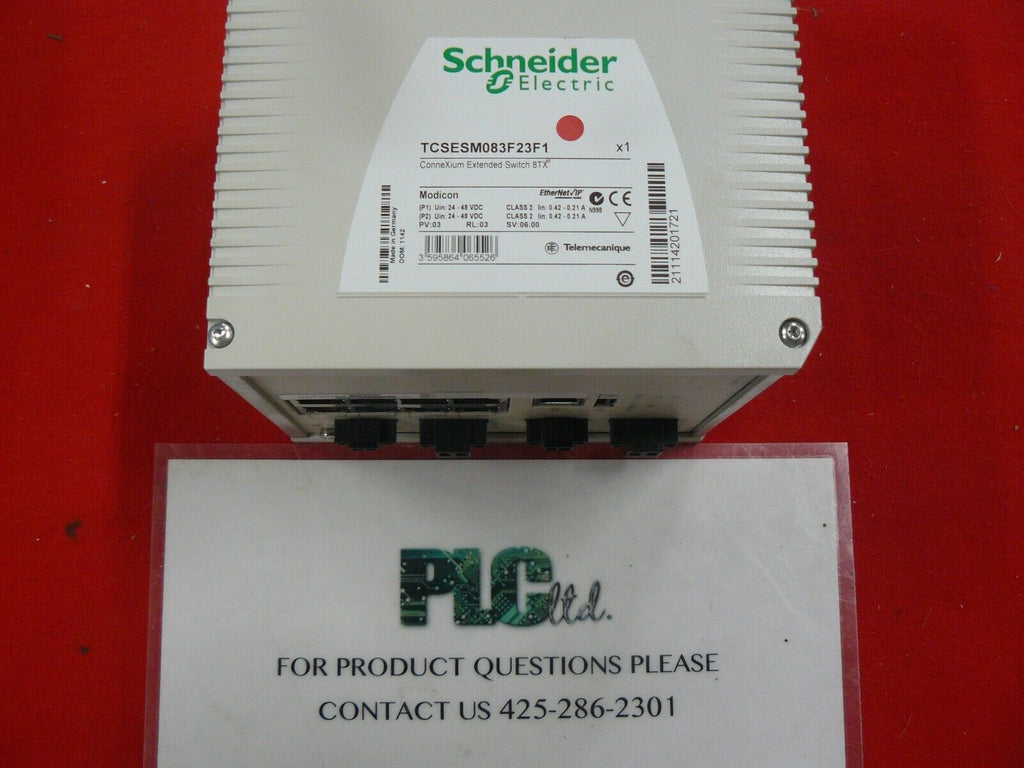 TCSESM083F23F1 Modicon Schneider CONNEXIUM EXTENDED SWITCH 8TX