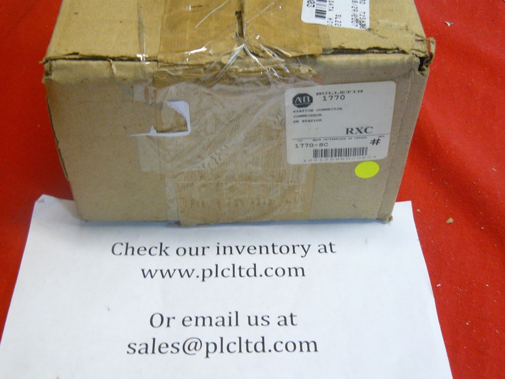 1770SC RXC Allen Bradley Station Connector 1770-SC