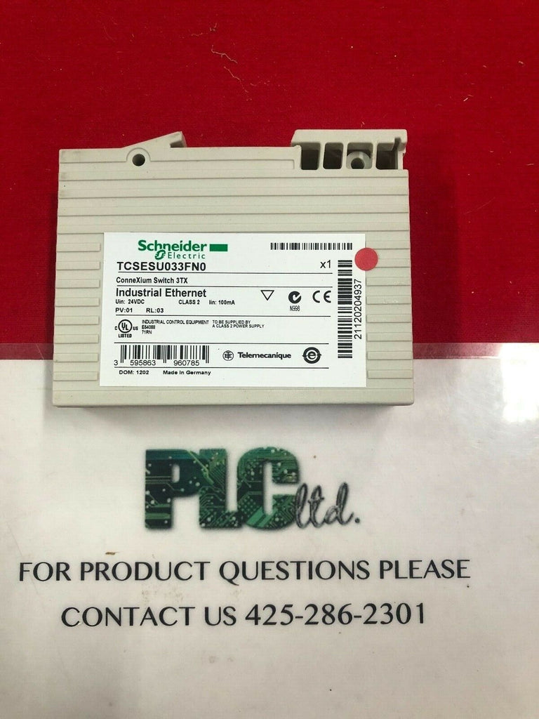 SCHNEIDER TCSESU033FN0 CONNEXIUM UNMANAGED SWITCH 3TX