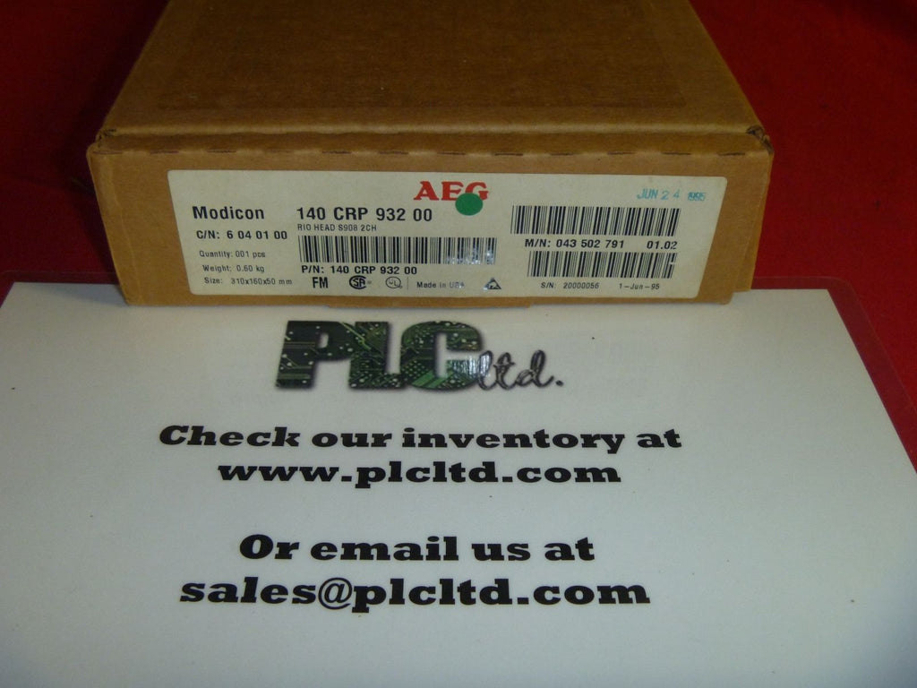 140CRP93200 BRAND NEW Modicon RIO HEAD Module 140-CRP-932-00
