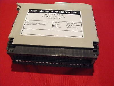 1-009-48 Used Modicon 48VDC Power Sply Monaghan Eng