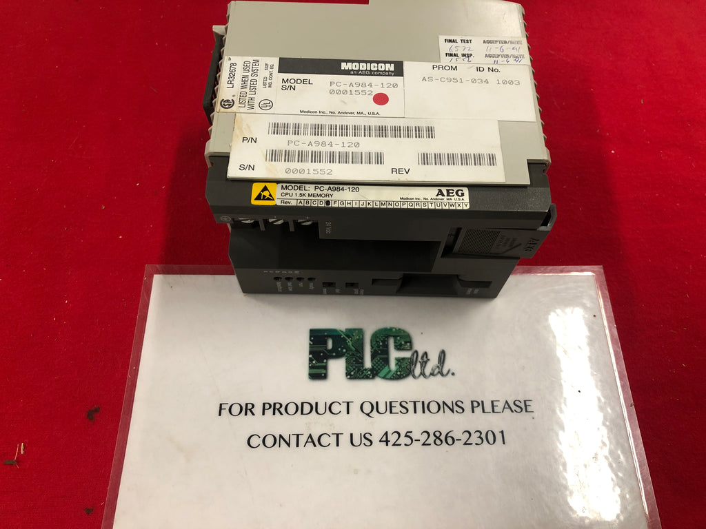 PC-A984-120 Used Modicon Compact CPU PCA984120