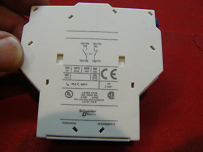 LAD8N11 Telemecanique Modicon Starter Lateral Contact Block  LAD-8N11