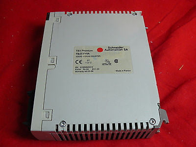 TSXCTY4A Used TESTED Modicon Premium 4 Channel Counter Module TSX-CTY-4A