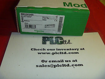 BMXXBP0400 BRAND NEW Schneider Electric Modicon BMX-XBP-0400