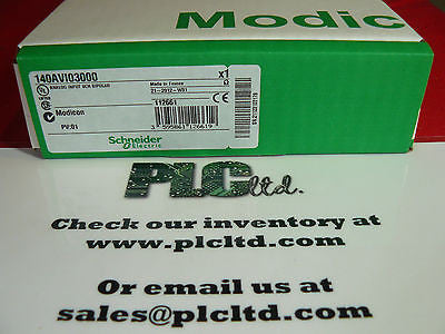 140AVI03000 NEW SEALED Modicon Analog IN Module 140-AVI-030-00