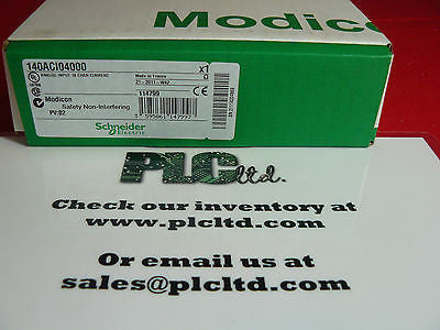 140ACI04000 NEW FACTORY SEALED Modicon Analog IN 140-ACI-040-00