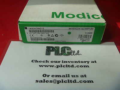 140DAO84210 BRAND NEW SEALED Modicon Quan AC OUT 100 140-DAO-842-10