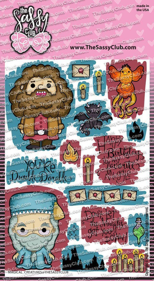 Magical Creatures - Clear Stamps by The Sassy Club