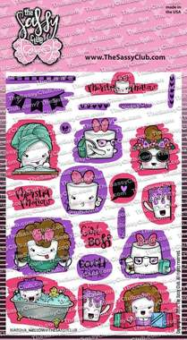 Marsha Mellow - Clear Stamps by The Sassy Club