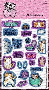 Pawsome - Clear Stamps by The Sassy Club
