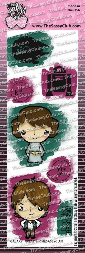 Galaxy Friends - Clear Stamps by The Sassy Club