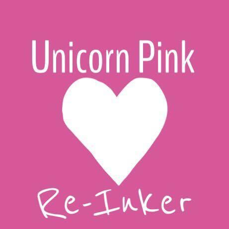 Unicorn Pink Re- Inker ( Not the ink Pad) - Clear Stamps by The Sassy Club