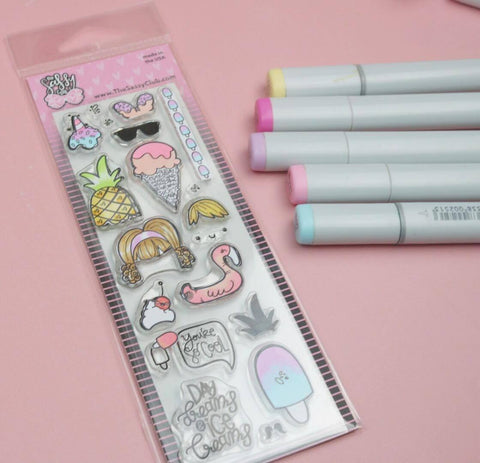 Day Dreams & Ice Creams Planner Stamps
