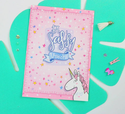 Sassy Unicorn Dashboard - Planner Stamps by The Sassy Club