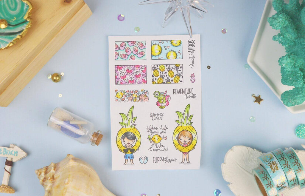 Summer Lovin' - Clear Stamps by The Sassy Club