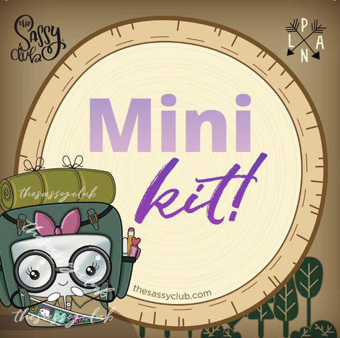 Mini Kit - Clear Stamps by The Sassy Club