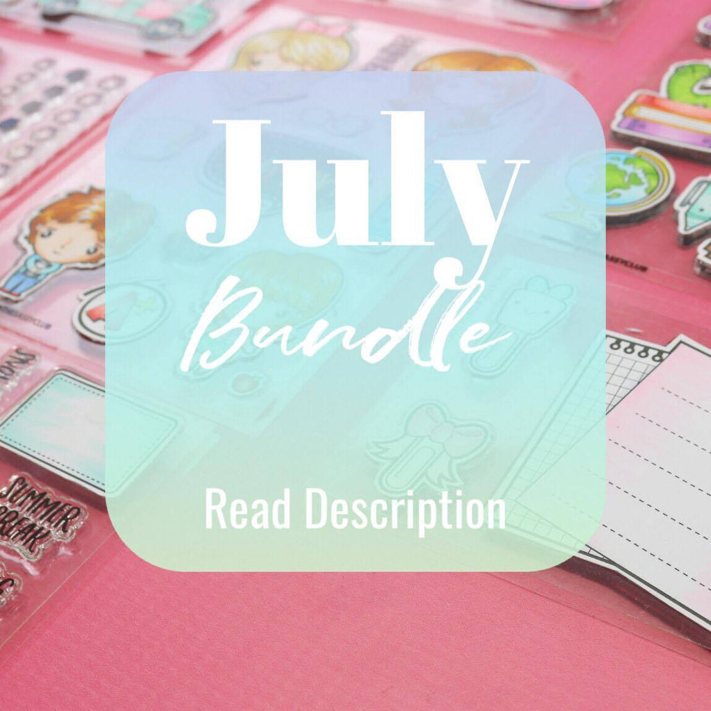 July Bundle - Clear Stamps by The Sassy Club