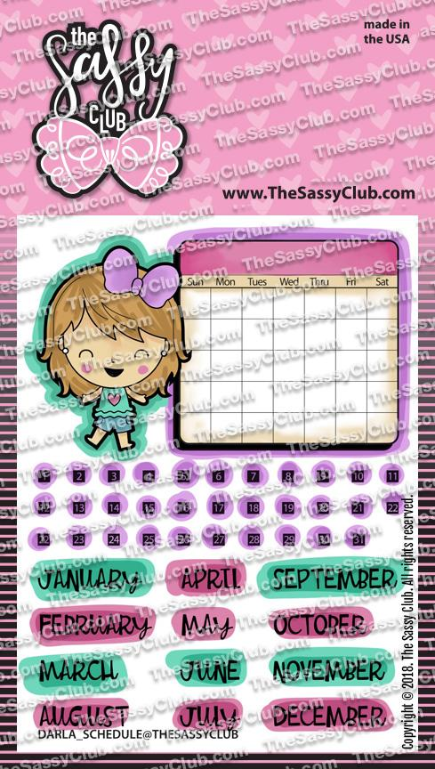 Darla Schedules - The Sassy Club