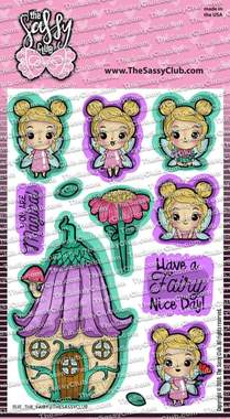 Rue the fairy - Clear Stamps by The Sassy Club