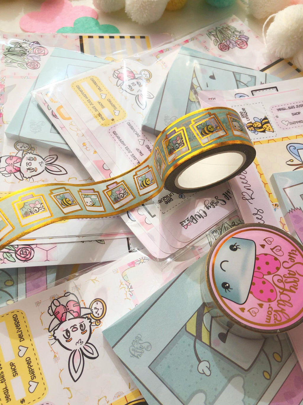 Washi Tape (Spring Kit) - Clear Stamps by The Sassy Club