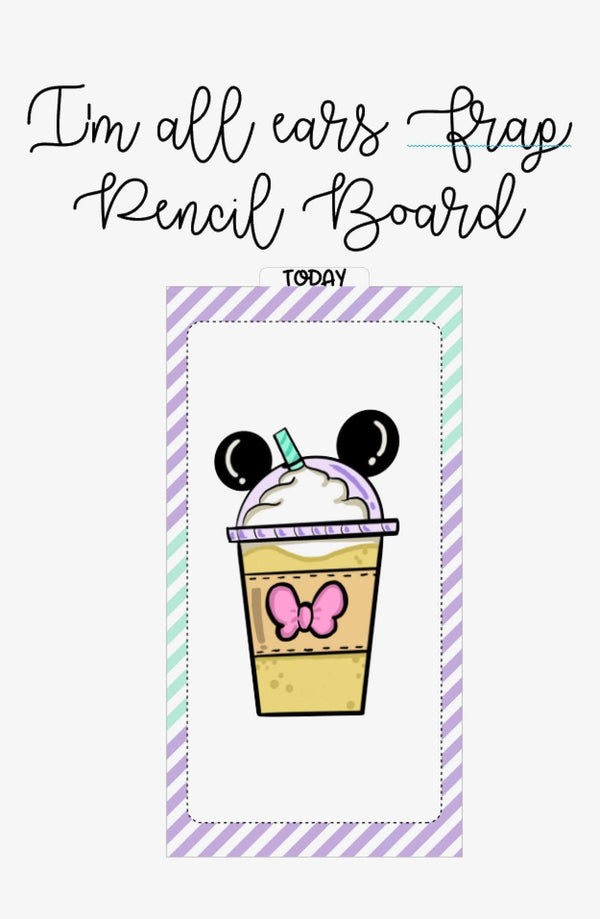 Magical Pencil Board (Digital Download) - Clear Stamps by The Sassy Club