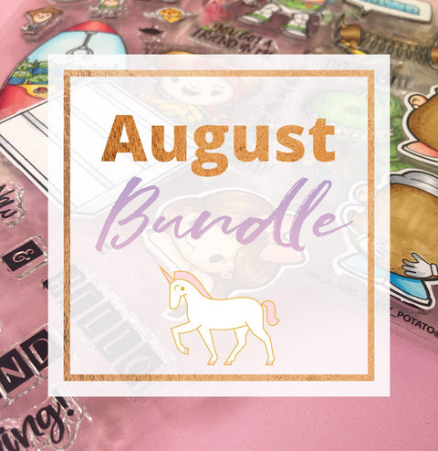 August Bundle - Clear Stamps by The Sassy Club