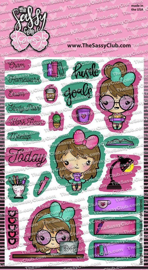 Darla Studies - Clear Stamps by The Sassy Club